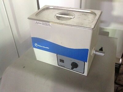 Fisher Scientific FS60H Heated Ultrasonic Cleaner tested working