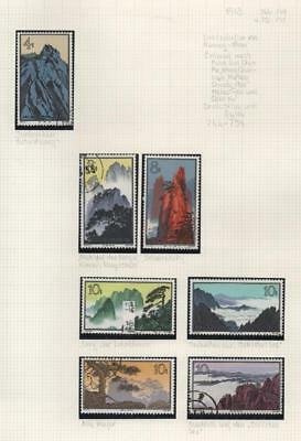 CHINA: 1963 Examples - Ex-Old Time Collection - Album Page (14428)