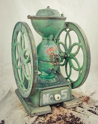 Antique PHILADELPHIA ENTERPRISE 1873 Coffee Grinder 5 Mill Moulin cafe Molinillo