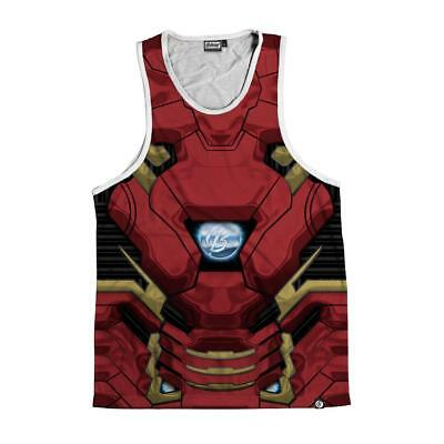 BRAND NEW Beloved Shirts IRON MAN Tank Top SMALL-2XLARGE CUSTOM MADE TO ORDER