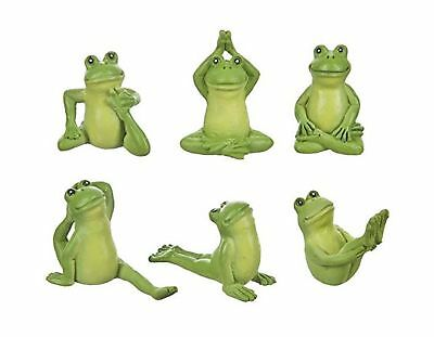 Yoga Frogs Collection by Ganz (6 Piece Set)