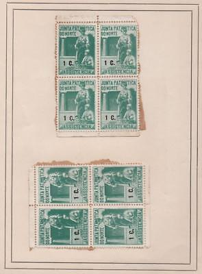 PORTUGAL: Revenue Examples - Ex-Old Time Collection - 2 Sides of Page (15873)