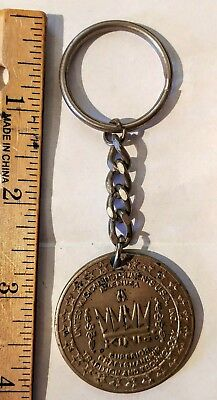 King 100th anniversary Key Chain King Music instrument Co. 1893-1993