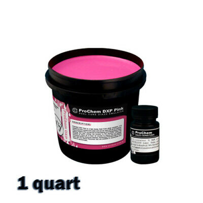 CCI DXP - Dual Cure Diazo Emulsion Silk Screen Printing - 1 QUART