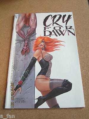 Cry For Dawn Volume Two 2 - March 1990 Joseph Michael Linsner 2nd Dawn app.    1