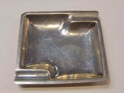 Sterling Silver Ashtray   31 Grams