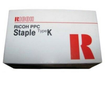RICOH STAPLES in cartridge,  #410801,  RICOH PPC,  Type K,     UPC 4961311874444