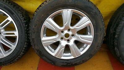 "Genuine 19"" Land Rover Discovery 3/4 Range rover alloy wheels 255/55/19 Tyres"