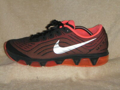 los angeles 0bf41 5a8ba ... sweden nike air max tailwind 6 mens trainers black orange silver uk 10  eu 45 e63bf