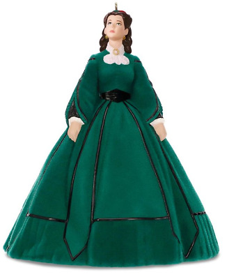 Hallmark 2018 Scarlett's Christmas Dress Gone with the Wind Ornament