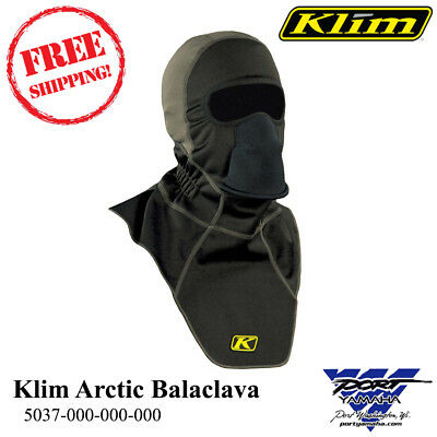 KLIM Men's Arctic Fleece-Lined Neoprene Balaclava Head Sock 5037-000-000-000