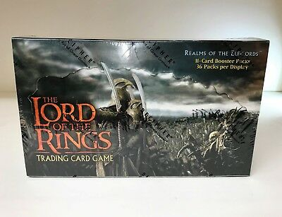 Lord of the Rings Realms of the Elf Lords - Decipher LOTR TCG Sealed Booster Box