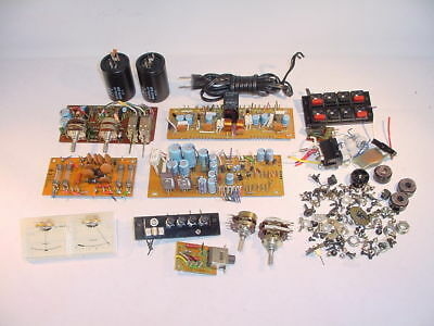 Pioneer SX-650 receiver MISC HARDWARE SPARE PART LOT & pdf-manuals