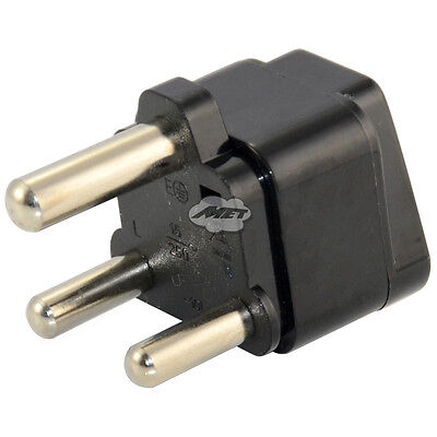 Fast Speed 3 Pin AU US EU UK to Big South Africa Plug Jack Travel Power Adapter