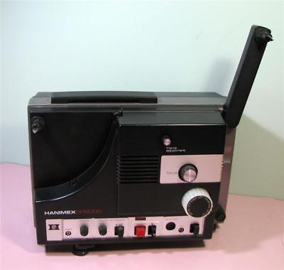 Vintage Hanimex Super 8 Film Movie PROJECTOR SR9000 GWO  SirH70
