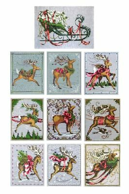 Christmas Eve Couriers Full Set - Cross Stitch Chart - FREE POST