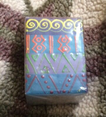 Kapula Fair Trade South African Hand Painted Candle