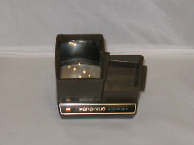 Vintage brown Gaf Pana-vue automatic slide viewer battery powered