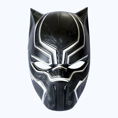 Black Panther Masks Superhero Cosplay PVC Full Face Mask Superhero Mask