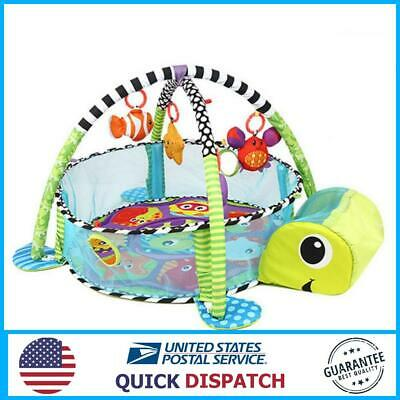 Infant Toddler Baby Play Set Activity Gym Playmat Floor Rug Kids Toy Carpet Mat