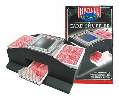 Bicycle 1-2 Deck Shuffler (Cards not included) New Free Shipping