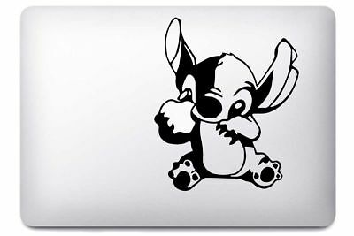 "LILO & STITCH vinyl sticker Mac Book/Air/Retina laptop decal 11 13 15 17"" DISNEY"