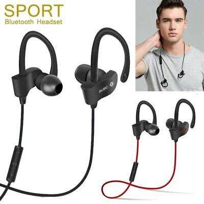Wireless Sport Running Bluetooth Headphones Headset Stereo Earphone Earbuds Mic