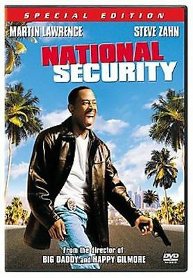 National Security (DVD, 2003, Special Edition, Full & Widescreen) *NEW* FREE S&H