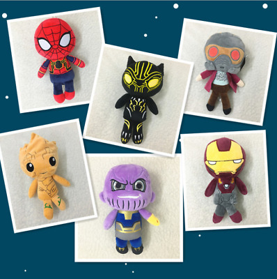 Avengers: Infinity War Plush Toy Thanos Black Panther Star-Lord Groot Doll Toys
