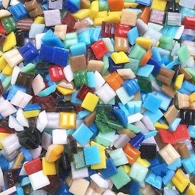 100g 10mm Mixed Quartz Glass Mosaic Tiles Kitchen Bathroom Art & Craft Supplies