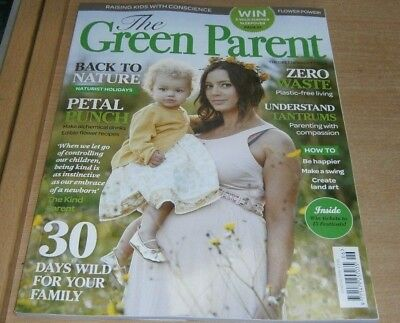 The Green Parent magazine Jun/Jul 2018 Naturist holidays + Edible flower drinks