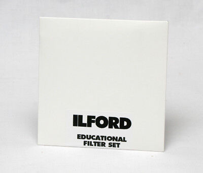 Ilford Multigrade Filters 8.9x8.9cm Educational Set