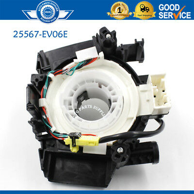 25567-EV06E Spiral Cable Clock Spring Air Bag For Nissan Tiida 2007-2012 I4-1.8L