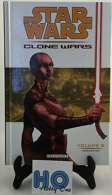 Comics - Star Wars - Clone Wars - Vol. 8 : Obsession - Delcourt - Comme NEUF
