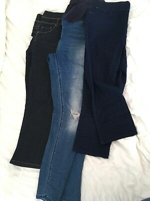 Bundle Of Maternity Trousers (Jeans) Size 14