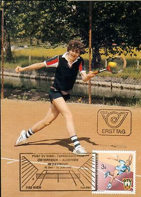 Austria Michel Nr. 1707 on MC MK Tennis Davis cup gm79