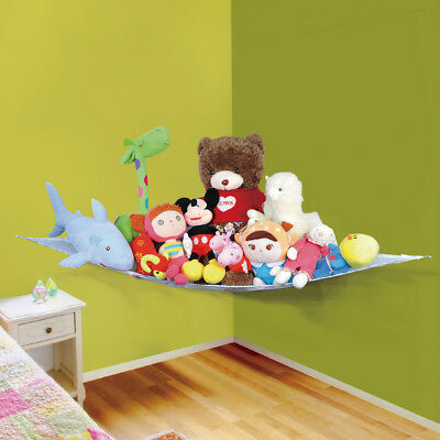 Toy Hammock Kids Baby Soft Large Teddy Bedroom Storage Nursery Net Childs Tidy