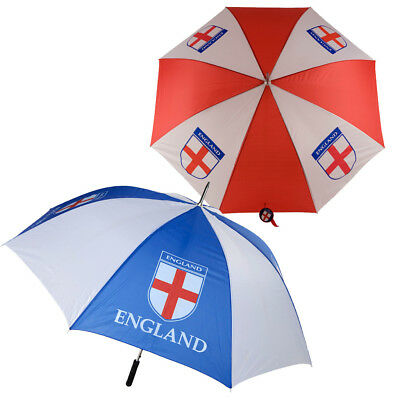 "Golf Umbrella Brolly Football St George Flag 52"" Auto England Sports Outdoor"