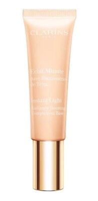 Clarins Instant Light Radiance Boosting Complexion Base  # 02 Champagne 30ml New