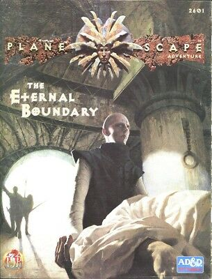 "AD&D 2nd Edition - PLANESCAPE - Abenteuer ""The Eternal Boundary"""