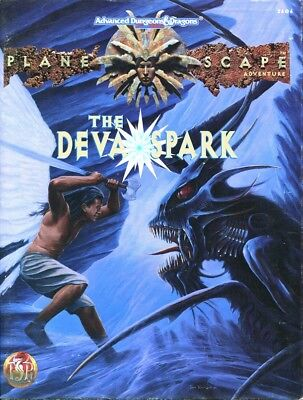 "AD&D 2nd Edition - PLANESCAPE - Abenteuer ""The Deva Spark"""