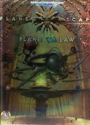 AD&D 2nd Edition - PLANESCAPE - Box Set Planes of Law
