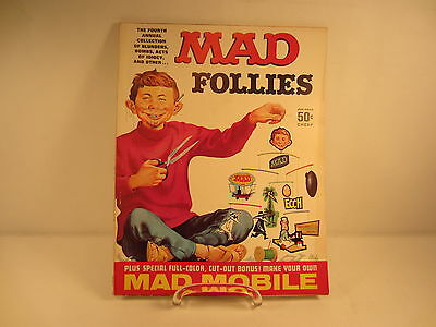 Mad Magazine Fourth Annual Collection of Mad Follies 1966 Edition
