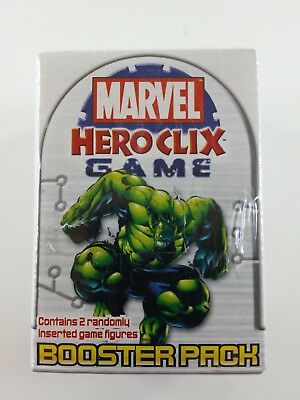 Marvel Heroclix Universe Booster Pack Game New In Package 2004