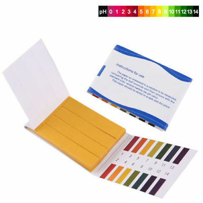 Test Paper Strips Tester Indicator Urine 80 pH 1-14 Universal Full Range Litmus