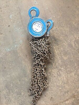 Manual Chain Hoist 1000kg, 6m Hol Block & Tackle