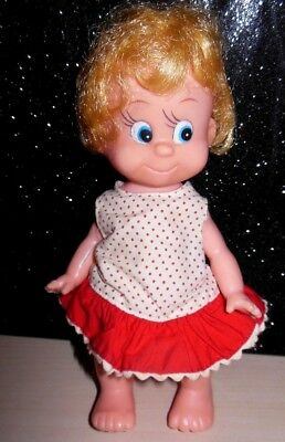 "Vintage 1965  Collectible R. Dakin Dream Doll 7"" Blonde Made in Hong Kong CUTE"