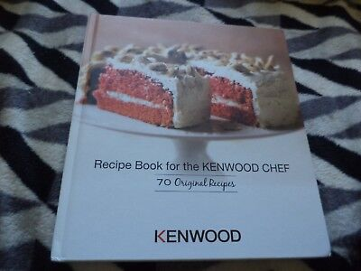 Kenwood recipe book for the kenwood chef 70 original recipes new recipe book for the kenwood chef 70 original recipes hardback book forumfinder Images