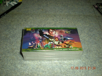 Star Wars The Clone Wars {Saison 1}{Wide Vision} Topps