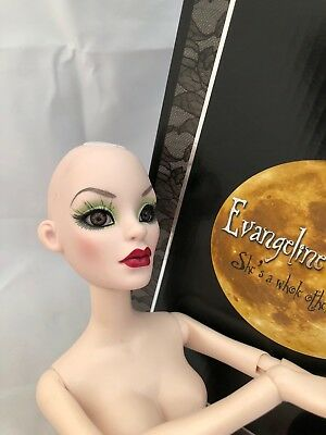 Tonner Evangeline Ghastly ~ Parnilla Mossy Tombstone ~ nude DOLL ONLY -cool eyes